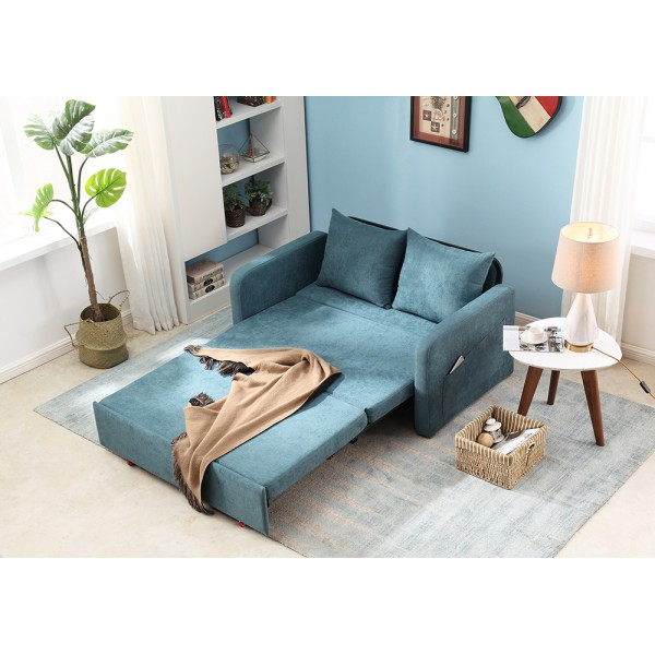 Sleeper Sofabed Foldable Living Room Sofa 1.4 Meters Sofa 1.8 Meters Bed Bedroom Balcony Two Seater Tatami Furniture for Livingroom Chair BedSofa Bed